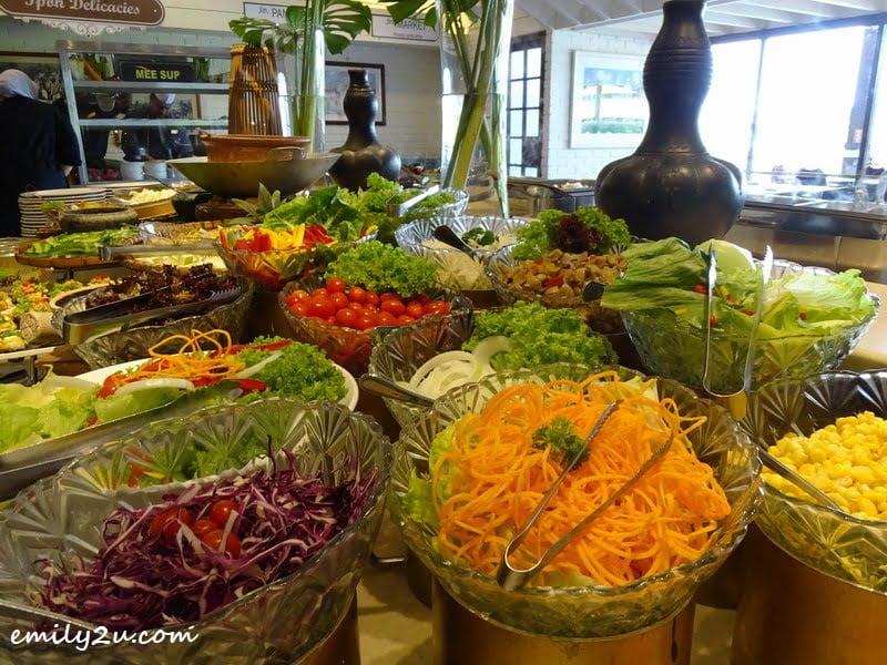10. Salad Bar