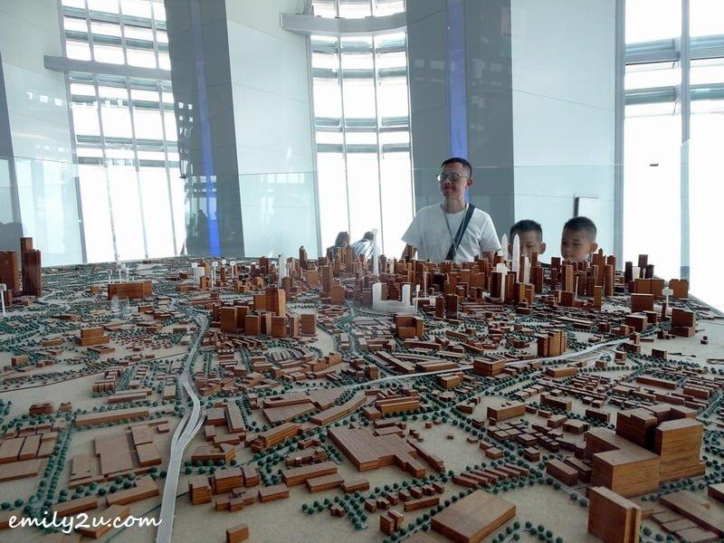 10. Kuala Lumpur cityscape model
