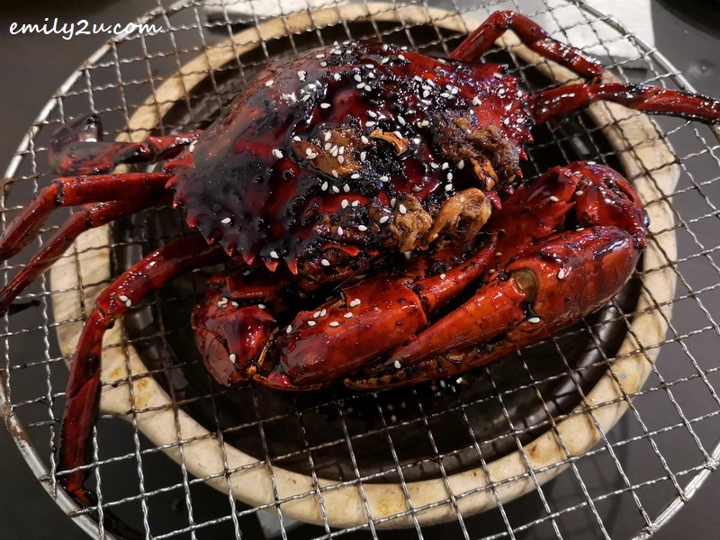 11. Charcoal-Grilled Marmite Crab