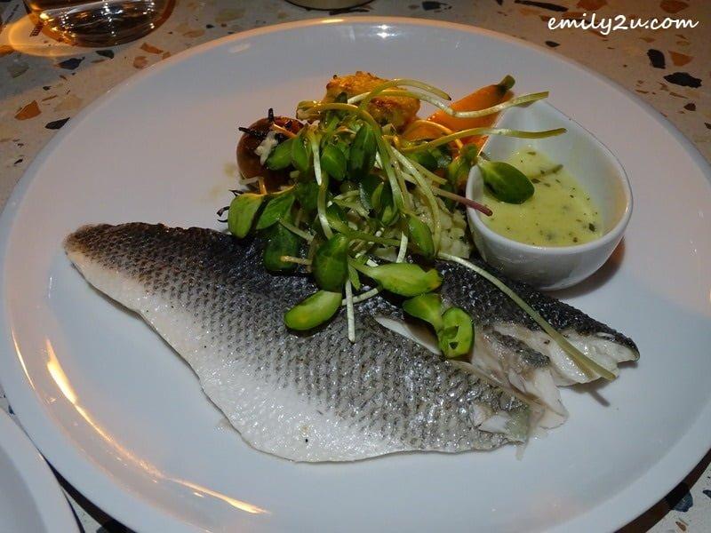10. Loup de Mer (steamed seabass)