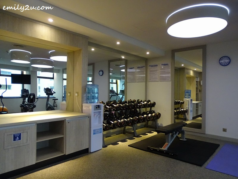 15. fitness centre