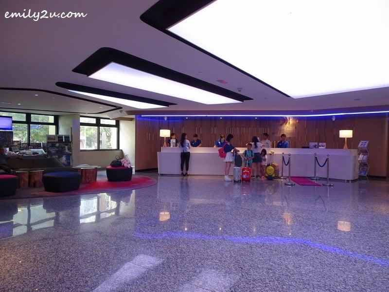 3. hotel lobby on Level 1