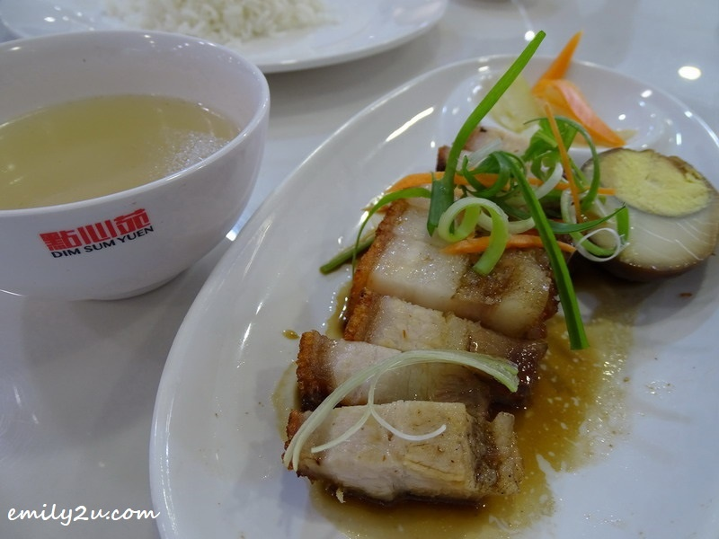 4. Roasted Pork Rice