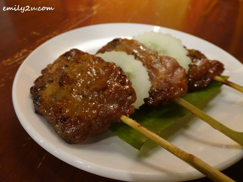 5. Moo Ping (charcoal-grilled pork fillet)
