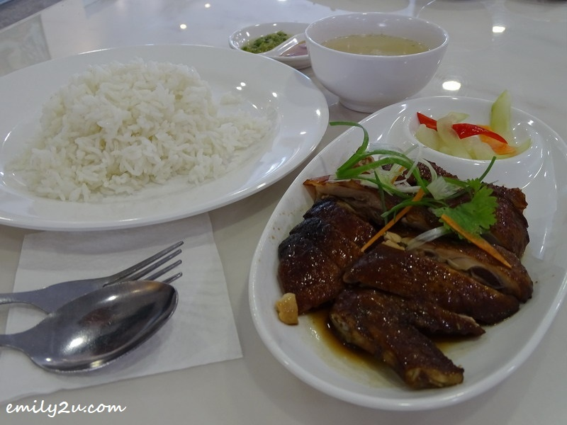 6. Soy Sauce Chicken + Roasted Duck Rice