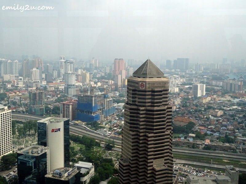 6. aerial view of Kuala Lumpur