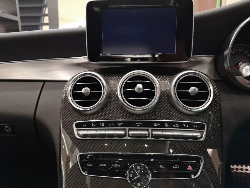 7. the latest technologies are incorporated in the C350e