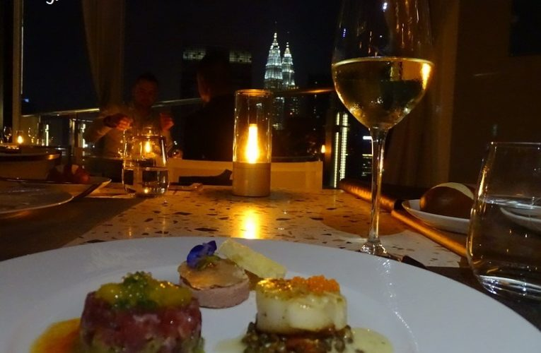 A Romantic Dinner Overlooking Kuala Lumpur's Cityscape @ Cielo KL 希洛天空海鲜馆