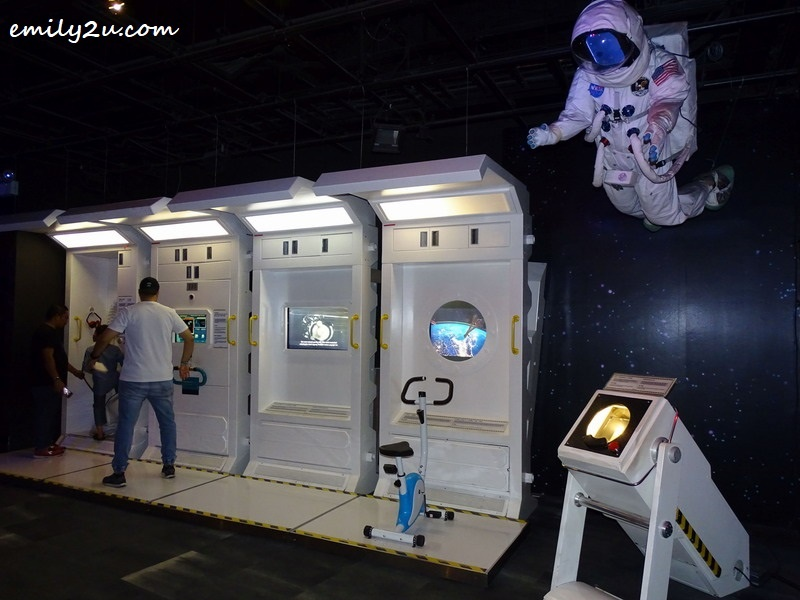 7. space exhibits