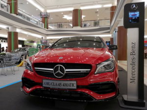 8 AMG CLA 45 $MATIC Mercedes