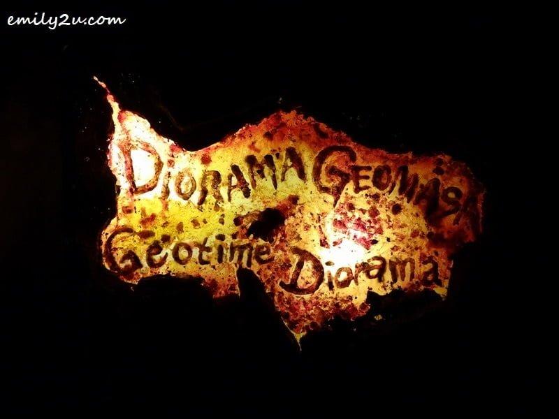 8. Geotime Diorama