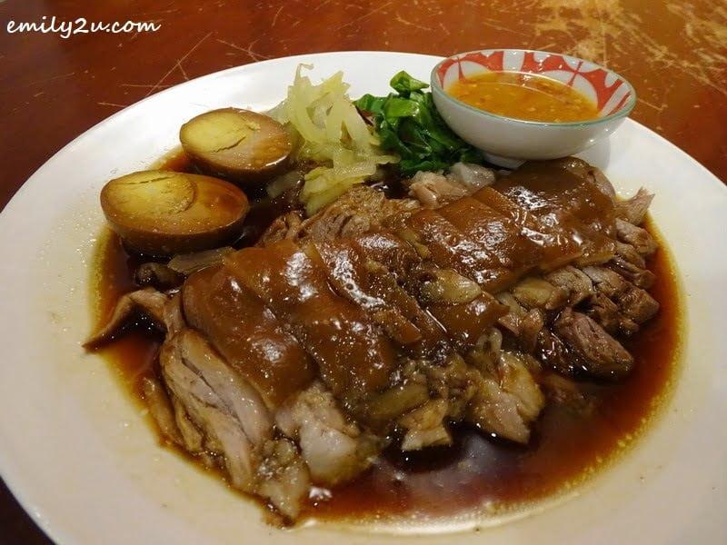 9. Khao Kha Moo (stewed pork leg)