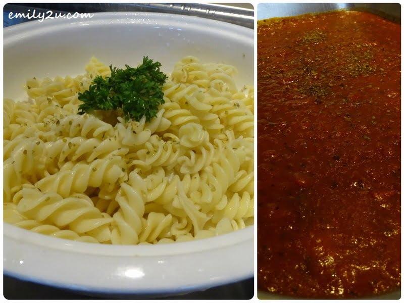 9. Pasta with Napolitana Sauce (R)