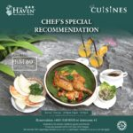 The Haven Cuisines Chef's Special Recommendation
