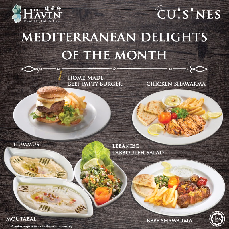 Mediterranean Delights at The Haven Cuisines, Ipoh