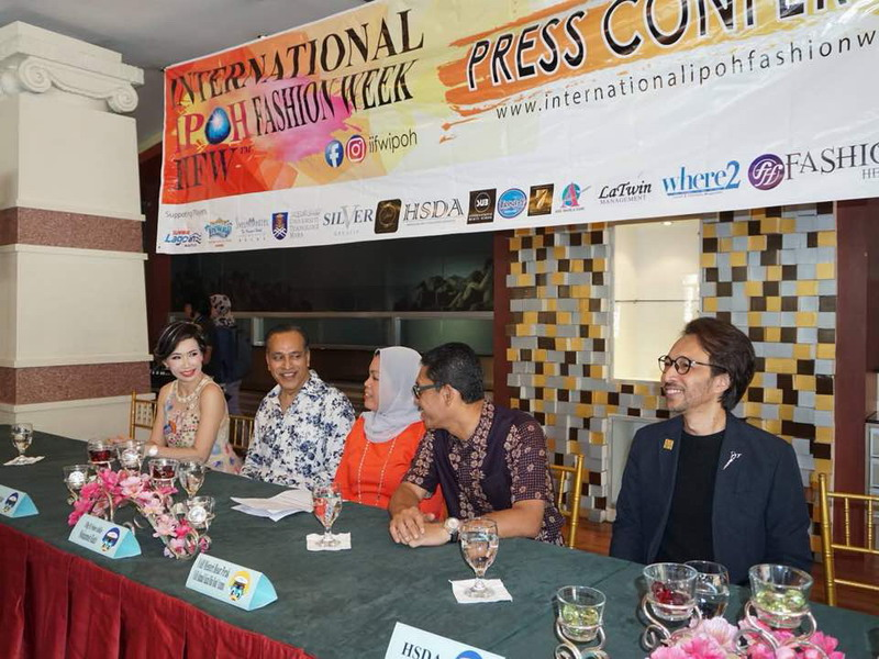 1. ready for the 2nd International IPOH Fashion Week Press Conference