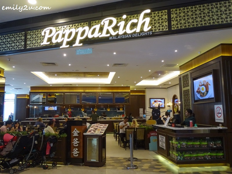 1. PappaRich @ SkyAvenue, Resorts World Genting