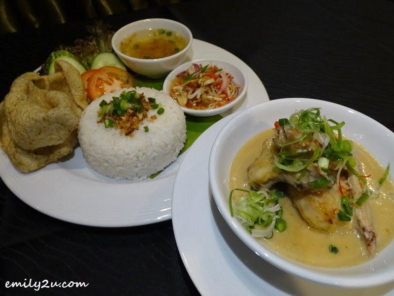 18. Ayam Bakar Percik Kelantan lunch set