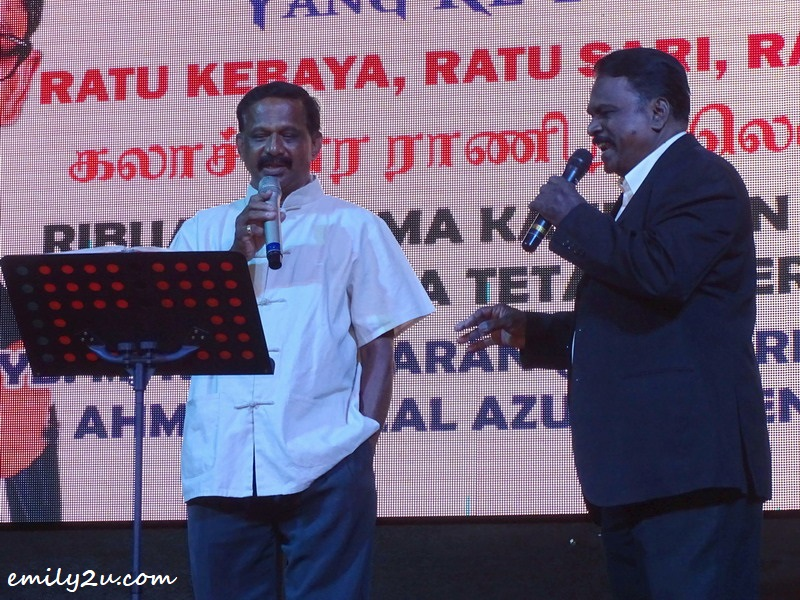 2. duet by Mr. Shanmugam (R) and Mr. Baskaran (L)