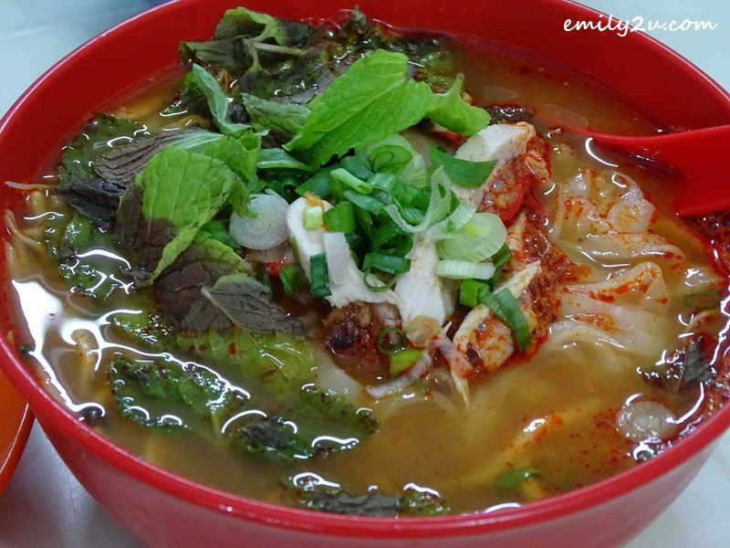 2. hot & spicy curry noodles