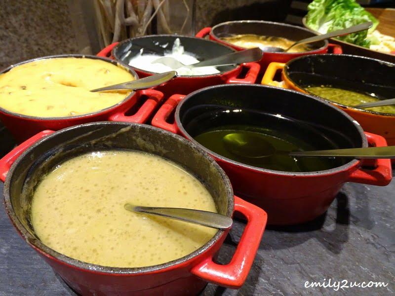 4. salad dressings