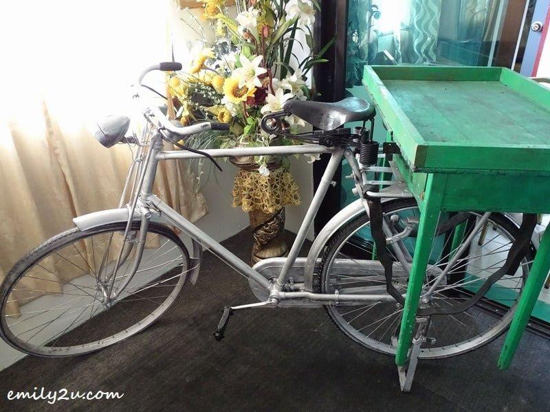 4. the original kacang putih cart used by D.N.S. Kacang Putih founder