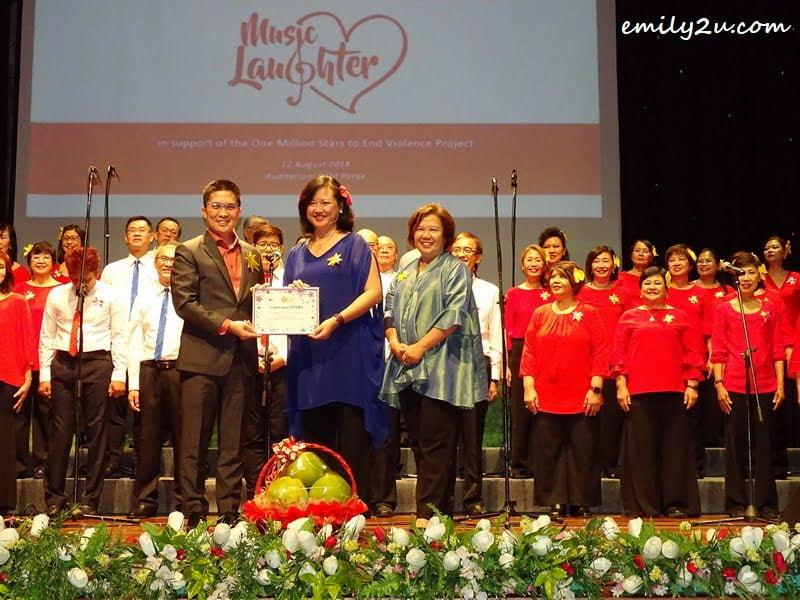 8. presentation of mementos, first to Ms. Cheryl Teh