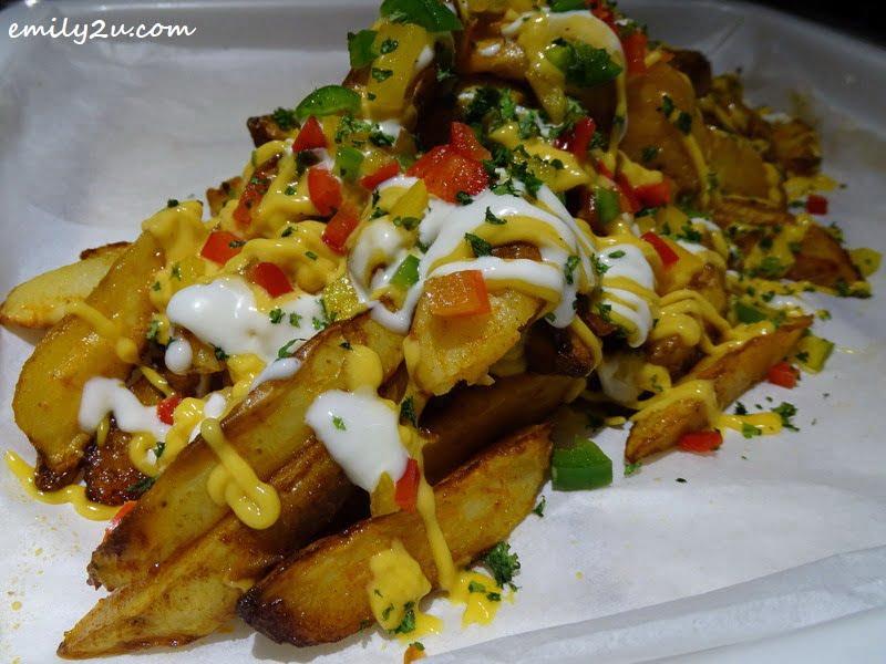 14. Homemade Spicy Cheese Potato