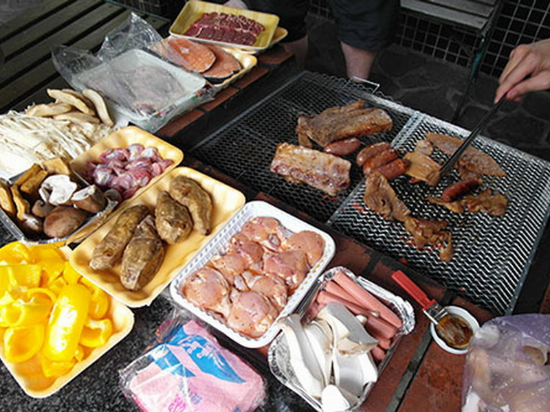 BBQ. Photo credit: Travel King TW