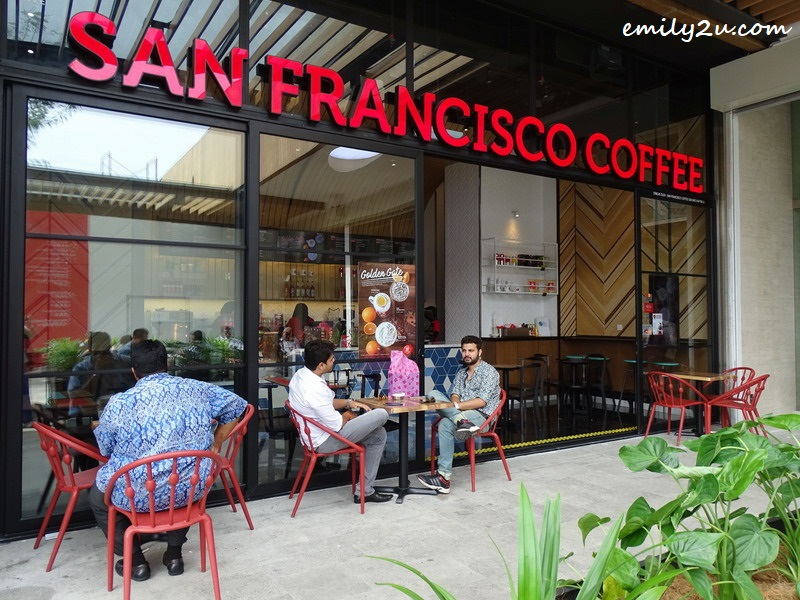 1. San Francisco Coffee, @ SkyAvenue, Resorts World Genting