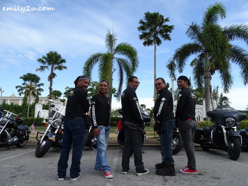 15. some members of Harley Owners Group (HOG) Terengganu