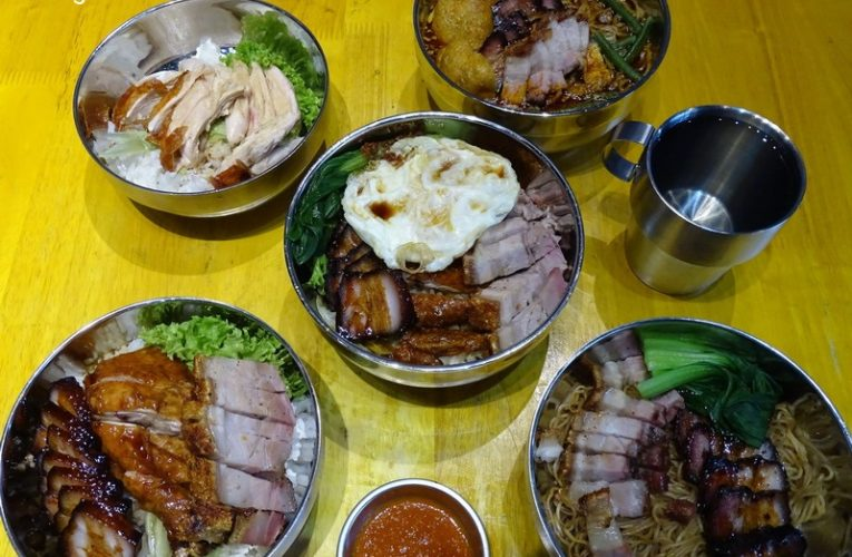 Classic Premium Cantonese Charcoal Roast Mix @ Kitchen Iron Rice Bowl, Ipoh