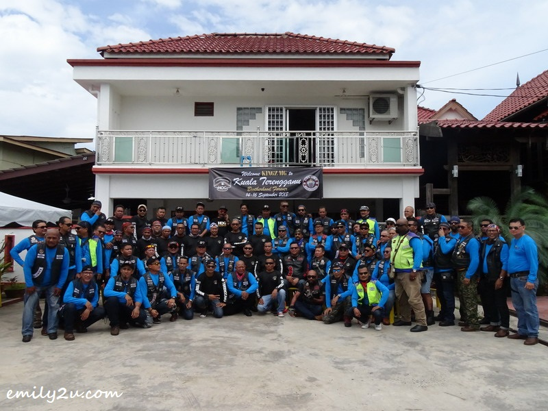20. group photo with members of Harley Owners Group (HOG) Terengganu
