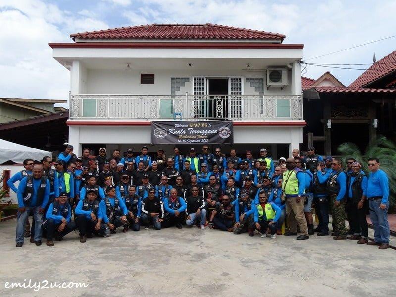 20. group photo with members of Harley Owners Group (HOG) Terengganu