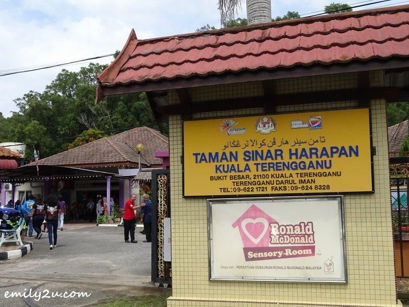 21. visit to Taman Sinar Harapan in Kuala Terengganu, a special needs school