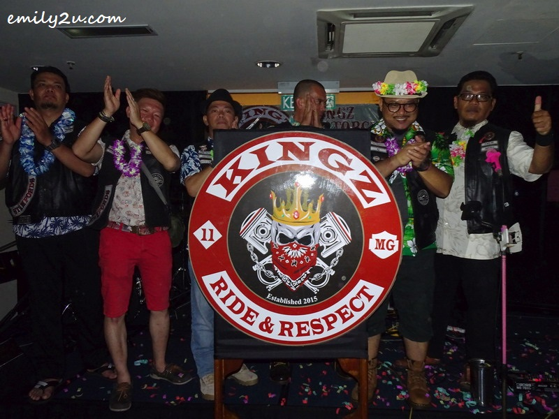 29. a new Kingz MG logo is launched, with a global feel