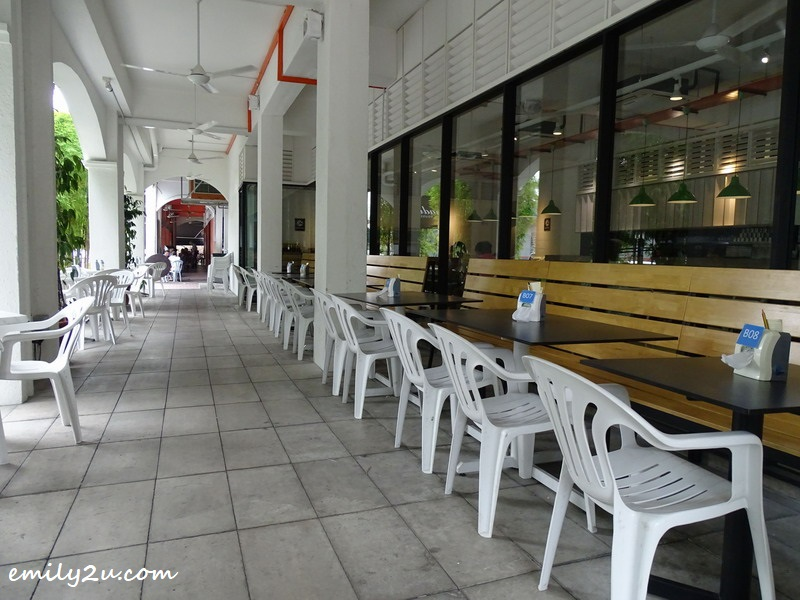 3. outdoor sitting area