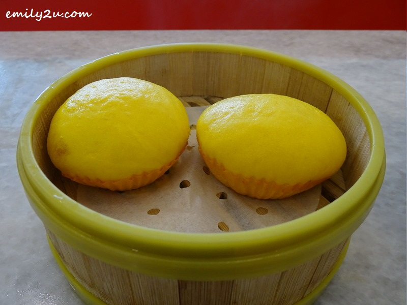 6. Signature Golden Custard Buns
