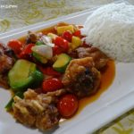4 Sweet & Sour Chicken with Rice