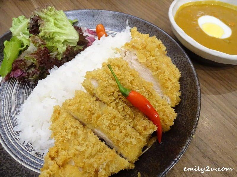 5. Chicken Katsu Curry Rice