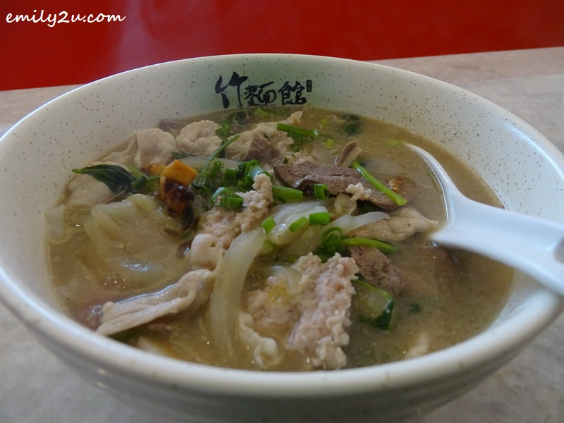 4. Zok Noodle House Spicy Soup Pork Noodles