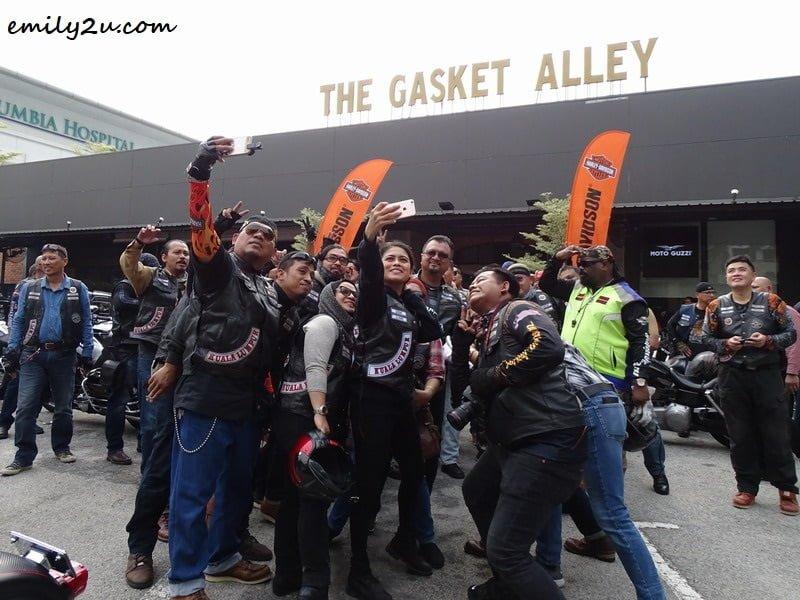 8. courtesy call at Harley-Davidson Petaling Jaya / The Gasket Alley