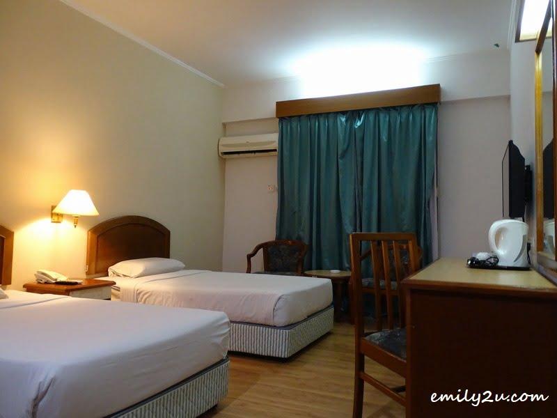 9. my room for two nights at Hotel Seri Malaysia Kuala Terengganu