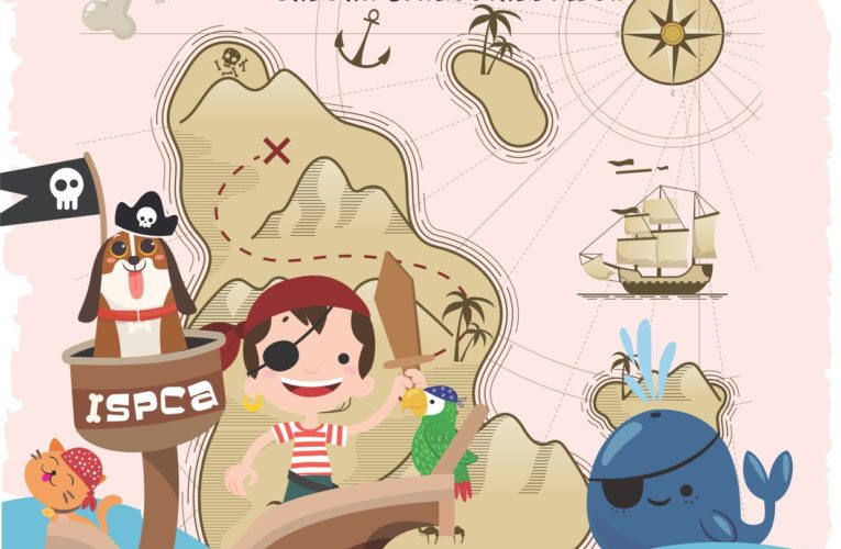 Get Your Furry Friends Ready for Pet Pirate Treasure Hunt