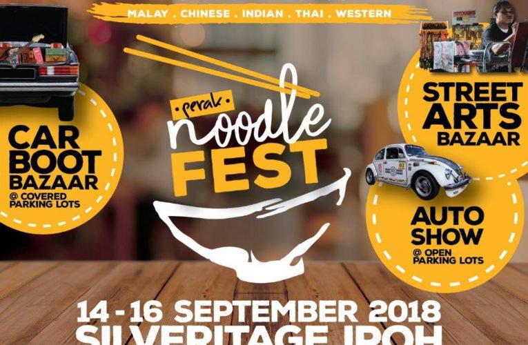 Announcement: Perak Noodle Fest 2018