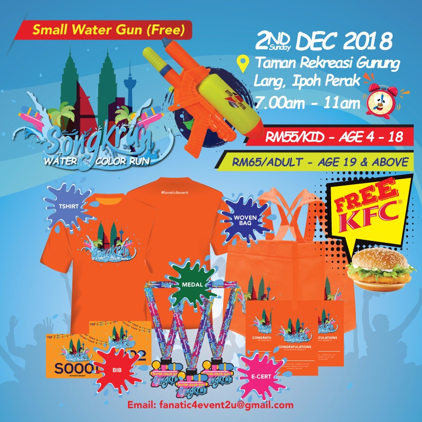 Songkrun Water Color Run 2018