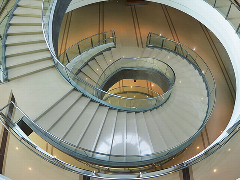 Nautilus Staircase (image credit: Bank Negara Malaysia Museum and Art Gallery)