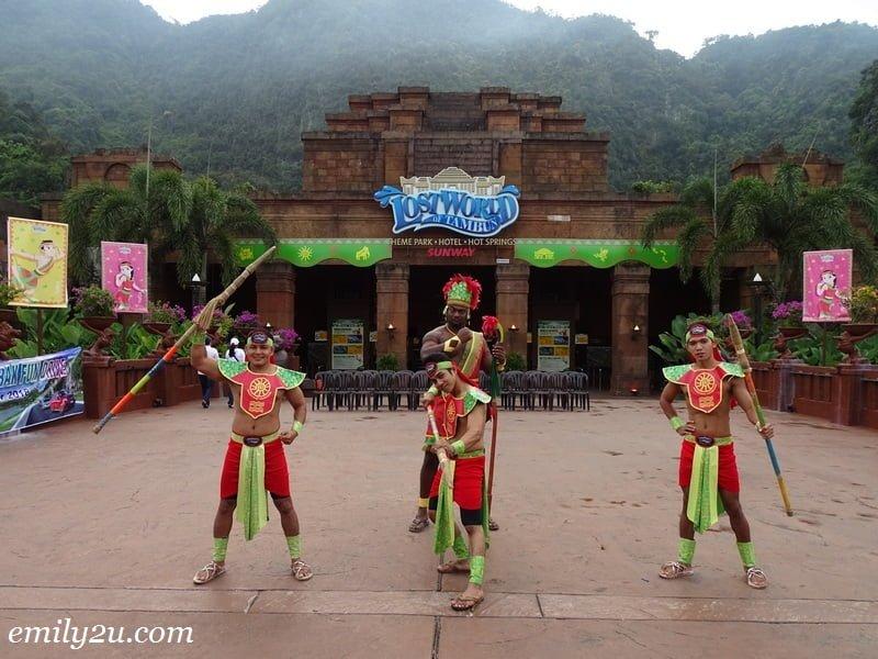1. at the Lost World of Tambun, Ipoh