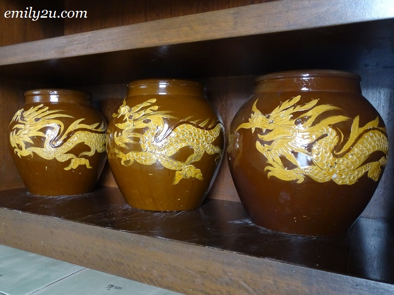 13. Chinese storage jars