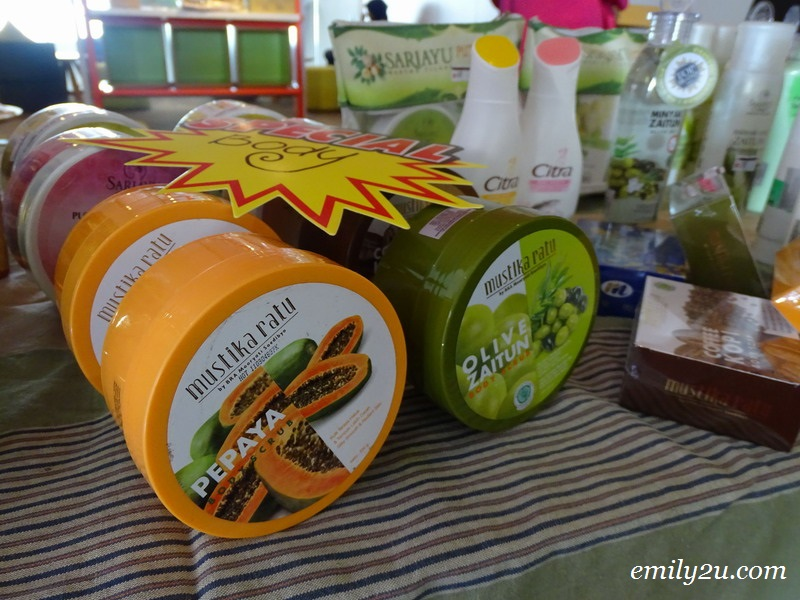17. products sold by Sari Ayu